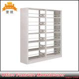 China-Fabrik-Großverkauf-modernes einfaches doppeltes Spalte-Stahl-Bücherregal