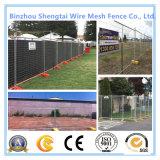 Загородка ячеистой сети размера PVC подгонянная покрытием для стены границы