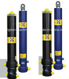 Solo cilindro hidráulico material telescópico para la venta
