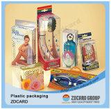 Doos van pvc van diverse Ontwerpen de Kleurrijke Afgedrukte Plastic