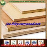 Madera contrachapada impermeable de la base de la madera dura del pegamento de WBP