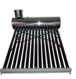 高圧太陽熱湯ヒーターのコレクターか加圧ヒートパイプの太陽給湯装置のコレクター