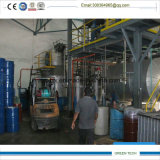 Nuova pianta 10ton di raffinamento del distillatore dell'olio residuo di circostanza al giorno