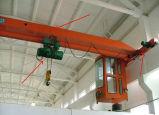 De enige LuchtKraan van de Balk met Elektrisch Hijstoestel