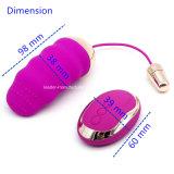 USBの10個の速度制御の振動の卵の舌のVibeの再充電可能なバイブレーター