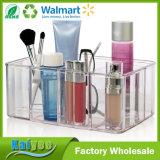 Organisateur de plastique de renivellement de vanité de qualité de la meilleure qualité de 5 compartiments