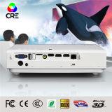 Bestes für Geschäfts-Gebrauch-Großbildgröße 250 Zoll der hohe Helligkeit 3800-Lumen-3D Laser-u. LED-Projektor