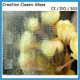4-12mmの酸はパタングラスをエッチングし、曇らした芸術ガラス(4-12mm)を