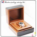 Lederne hölzerne Uhr-Kasten-Verpackungs-Bildschirmanzeige-Speicher-Uhr-Kasten-keramische Uhr-europäische Luxuxform-Luxuxart-Uhr (Sy013)
