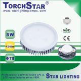 가정 사용을%s 알루미늄 열 싱크 SMD 5W 3000k LED 내각 빛