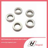 Forte magnete permanente personalizzato eccellente di /NdFeB del neodimio dell'anello N35 in Cina
