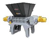 De Ontvezelmachine van twee Schacht voor het Schroot van het Metaal/Plastiek Weste Banden/Soild/Hout