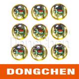 Стикер купола высокого качества изготовленный на заказ погодостойкmNs UV упорный кристаллический Epoxy