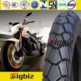 La motocicleta barata de la fabricación de China pone un neumático 3.00-18
