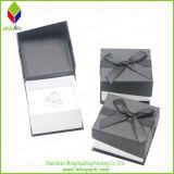 Восхитительная польностью черная коробка кольца упаковки благосклонности венчания