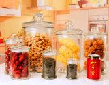 supporti di candela creativi personalizzati vaso di vetro del vaso della candela di marchio della candela del vaso del tè 150ml-7500ml