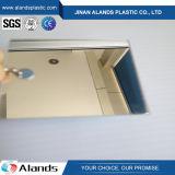 Feuille acrylique d'acrylique de miroir de plexiglass de feuille de miroir argenté