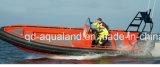 Aqualand 8mの26feet固体泡のSponsonの管のエヴァの固体泡のフェンダーの/Fishingのボート(RIB800)