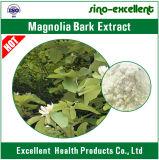 Pó natural do extrato da casca do Magnolia pela extração de CO2