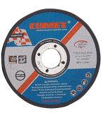 Roue plate de découpage pour l'abrasif en métal (115X3X22.2) avec des certificats de MPA