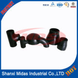 Diâmetro Grande Marcar 80 Steel Pipe Fittings Elbow