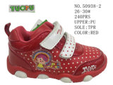 No 50938 ботинки голубого и розового малыша велкроего ботинок младенца цвета