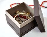 Rectángulo de almacenaje de madera de cuero de la visualización del embalaje del reloj del caso Boite De Montres EL Reloj De Uhrenbox un Caixa De Reló Gio (YS376)