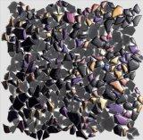 Crujido de los adoquines del vidrio cristalino de los azulejos de mosaico de Nueva Decoración