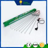 indicatore luminoso impermeabile del tubo della meteora di festa LED di natale di 5050/72/50cm