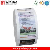 Pain imprimé thermique de papier de reçu de machine de l'atmosphère ISO9001