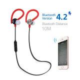 Fone de ouvido o mais novo colorido de Bluetooth do esporte com Mic