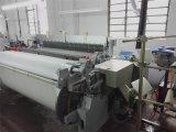 Tela de pano de algodão que faz o tear do jato do ar da maquinaria para a venda