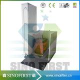 4m Sperrungs-hydraulischer vertikaler Treppen-Haushalts-Ausgangsrollstuhl-Aufzug
