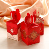 Rectángulo creativo del rectángulo de regalo del caramelo de los productos de la boda del nuevo estilo, de Niza y respetuoso del medio ambiente del caramelo