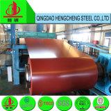 катушки красного цвета PPGI 0.5mm Prepainted гальванизированная стальная катушка