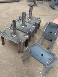 構築のための電流を通された足場支柱Forkhead