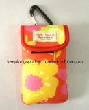 Caixa feita sob encomenda relativa à promoção do telefone do neopreno com impressão de cor cheia
