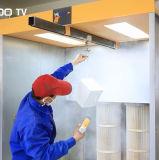 Cabina di spruzzo mobile del rivestimento della polvere
