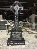 花こう岩の割引重要なプラクの墓地の記念物は販売のための記念碑の墓石に投石する