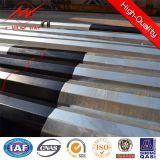 Средств передающая линия стальное Поляк напряжения тока с битумом