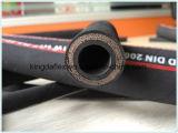 Boyau en caoutchouc hydraulique spiralé EN856 4SP de fil