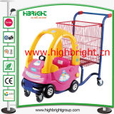 Chariot à achats de poussette de bébé de Supermaket