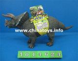 La buona qualità gioca il dinosauro di plastica molle della novità con CI (1014626)