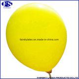 Großhandel 12inch Gelb-runde Form-Latex-Ballon für Dekoration Werbung Partei