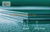 стекло 3+0.38+3mm ясное прокатанное для пользы безопасности