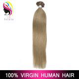 Выдвижение волос ногтя человеческих волос Remy бразильское Pre Bonded