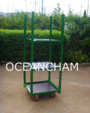Plegable Jardín Trolley Flor rack Cesta