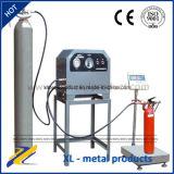 Equipo de relleno seco del extintor del polvo del CO2