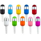 Mini crayon lecteur d'aiguille d'extrémité de couleur de jack De crayon lecteur promotionnel pour le matériel de panneau de contact