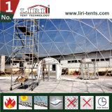 屋外のイベントのためのDia 30m-60mの半分球のドームのテント